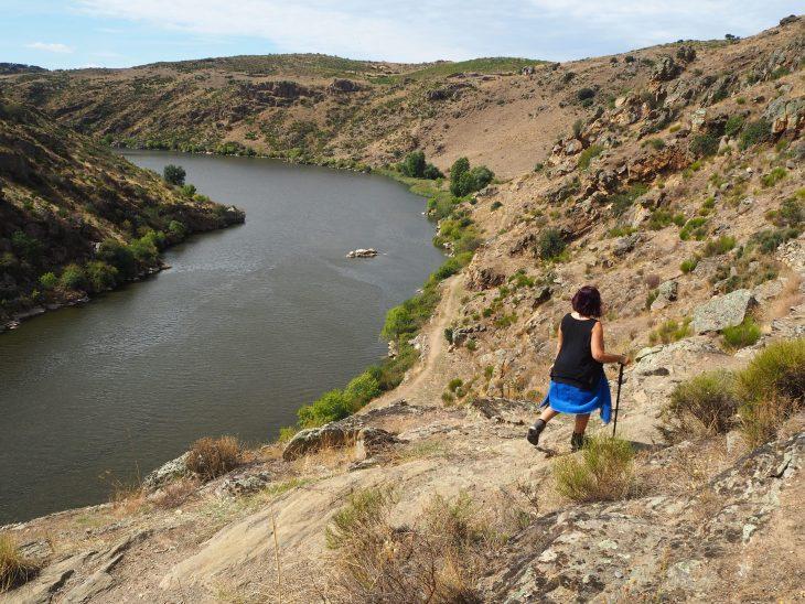 Bordeando el río Duero