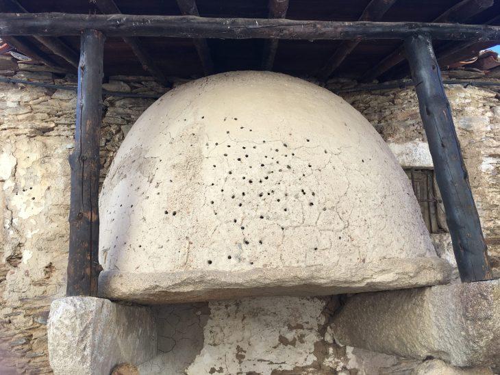 Horno de pan en Ahigal de los Aceiteros