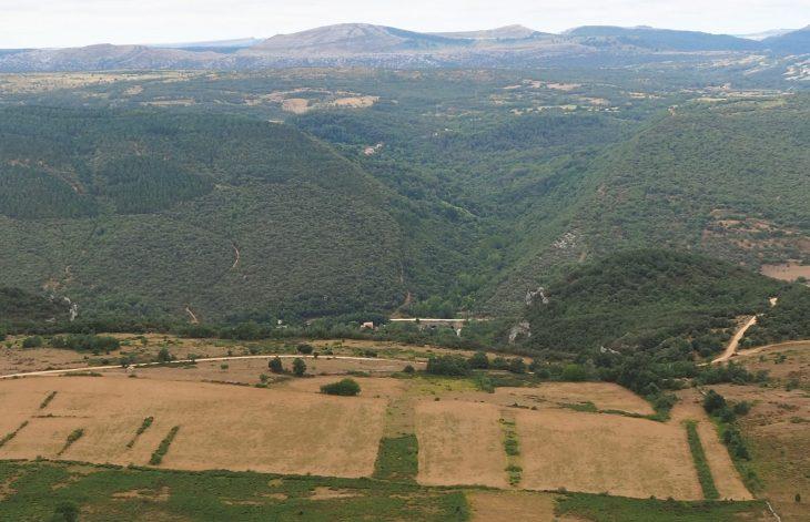Vistas desde lo alto de la Sierra de Dulla