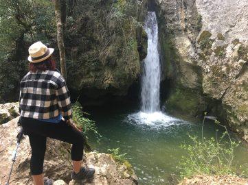 Ruta de la Cascada de Aguake desde Antoñana