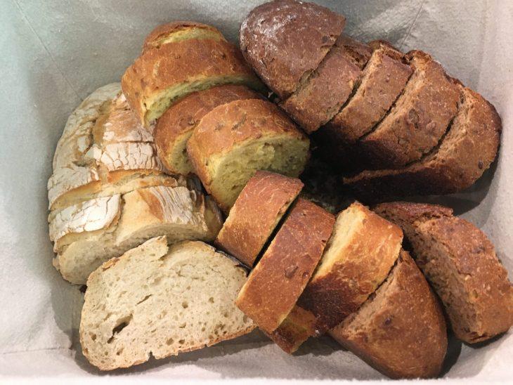 Selección de panes artesanos