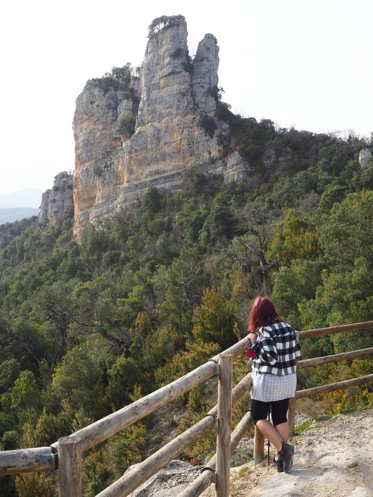 Mirador de la Peña del Castillo en Izki