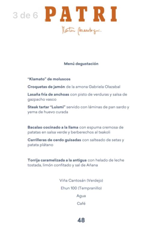 Patri Bilbao Gastrobar