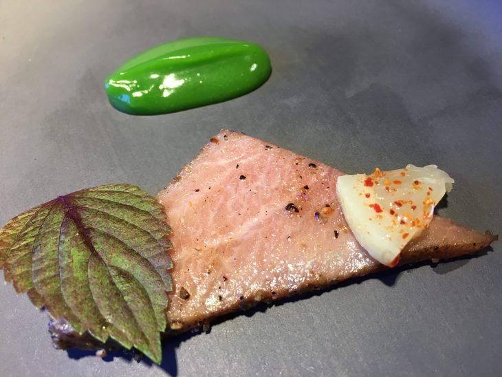 Pastrami de ventresca de atún rojo