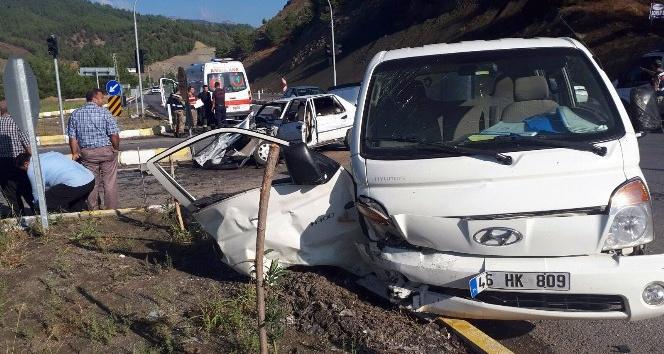 Maraş'ta trafik kazası: 1'i ağır 9 yaralı