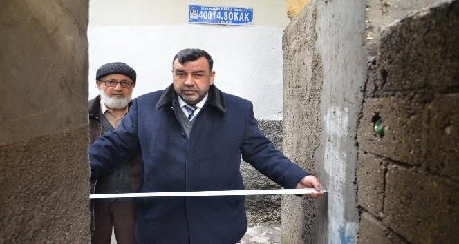 Türkiye'nin en dar sokağı Maraş'ta