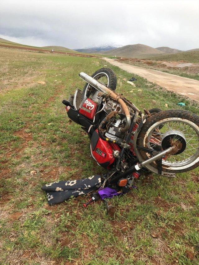 Kahramanmaraş'ta Motosiklet Devrildi: 1 Yaralı
