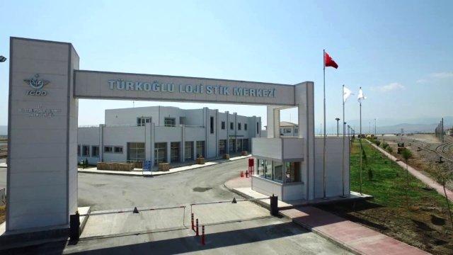 Kahramanmaraş Türkoğlu Lojistik Merkezi Faaliyete Geçti