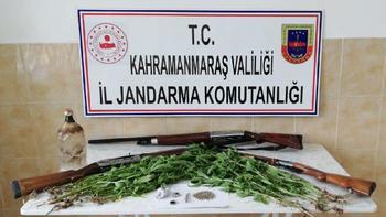 Andırın'da uyuşturucu operasyonu