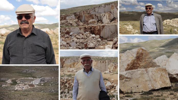 Maden şirketi Alevi köyündeki kutsal ağacı kesti, doğayı tahrip ederek gitti