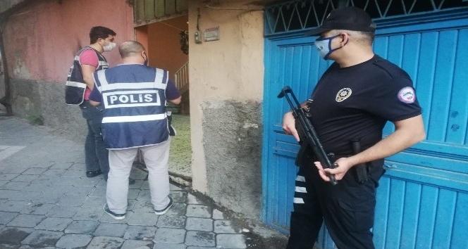 Kahramanmaraş'ta aranan 61 kişi yakalandı