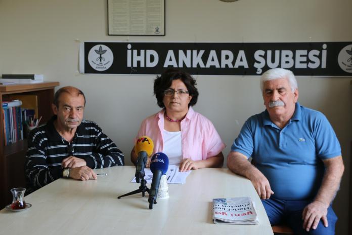Ankara İHD, Nisan-Mayıs-Haziran aylarına ait hak ihlalleri raporunu açıkladı-VİDEO