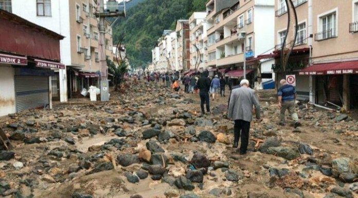Giresun'daki felakete tepki: Sellerin nedeni HES'ler ve çarpık kentleşme