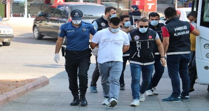 Kahramanmaraş'ta uyuşturucu operasyonunda 10 tutuklama