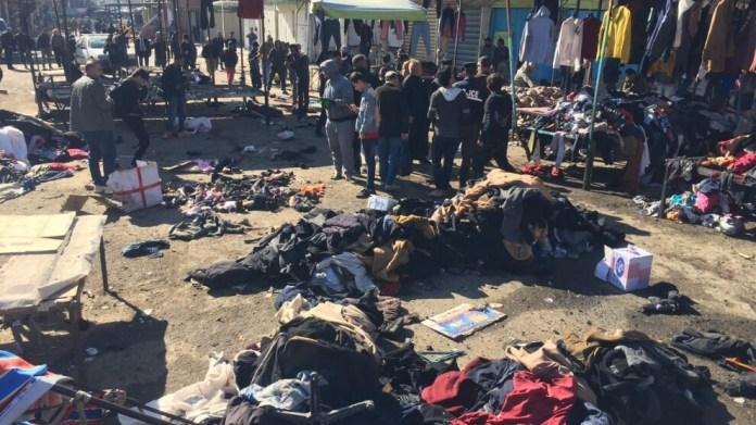 Bağdat'taki saldırıda ölü sayısı 30'a yaklaştı