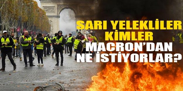 Sarı Yeleklilerin Fransa Hükümetinden 42 Maddelik İstekleri