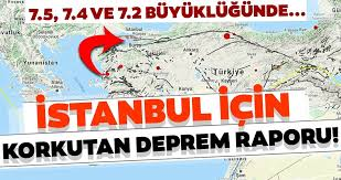 İstanbul için uyarı! 7,4'lük enerji birikti depremin vakti geldi!
