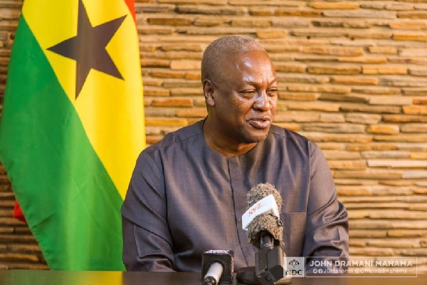 I will grow Ghanaian businesses if elected President – Mahama