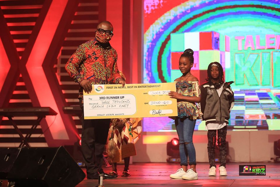 Stonegal gives a massive perormance at the Tv3 Talented Kids 2020 Grand Finale