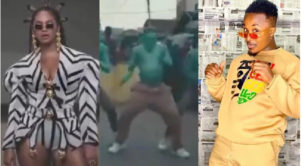 Ghanaian dancer with crew featured in Beyonce's 'Black Is King' film