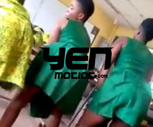 Three (3) SHS Student Drop Another Video Tw^king In Class With Eno Barony's Song 'Heavy Load'