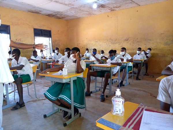 Student abandons WASSCE exams due to pregnancy at Vitting SHS