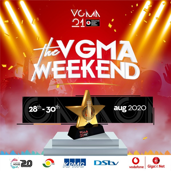 Charterhouse announces new dates for 21st Vodafone Ghana Music Awards