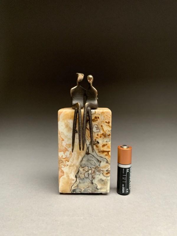 """miniature sculpture in 3"""""""