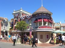 Disney Main Street Disneyland Clothiers