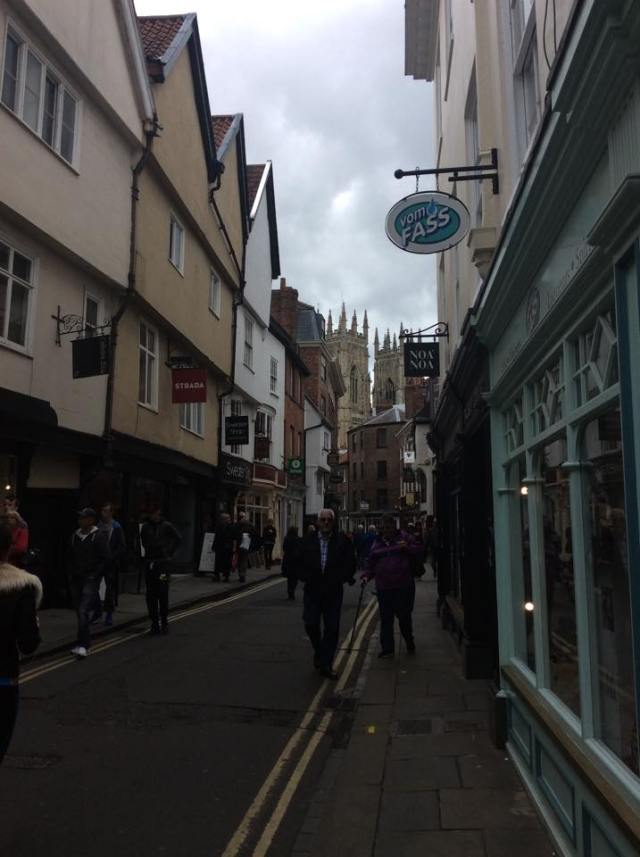The Shambles and York Minster