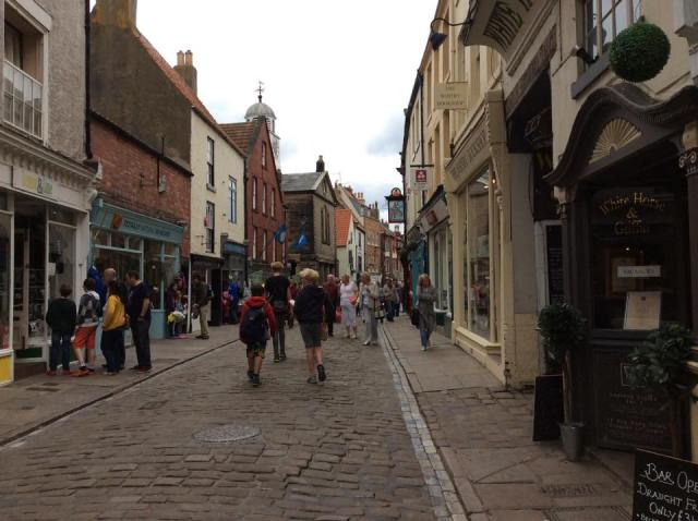 The old streets of Whitby