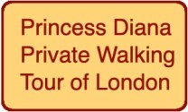 Princess Diana Walking Tour