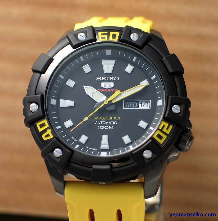 Limited Edition Seiko 5 - SRP509J (1/6)