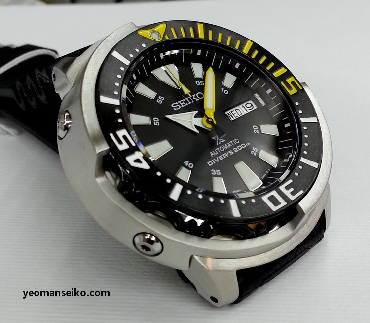 New Seiko 200m Shrouded Divers - SRP639K and SRP641K (3/6)