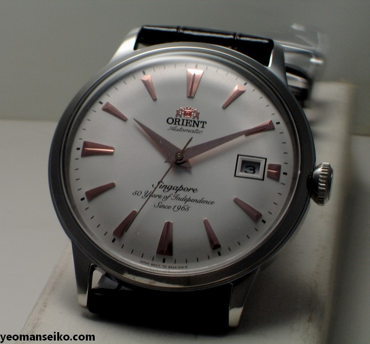 A Pair of SG50 Limited Edition Orient Bambinos by Big Time (2/6)