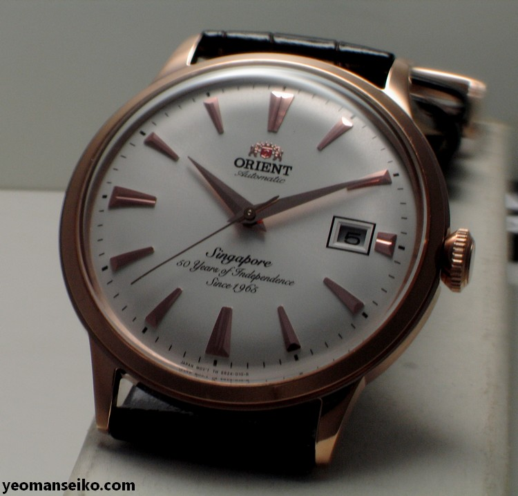 A Pair of SG50 Limited Edition Orient Bambinos by Big Time (3/6)