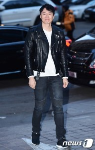 배우 연정훈이 6일 오후 서울 여의도 한 식당가에서 열린 사전 제작 jtbc 드라마 '맨투맨' 촬영 종료 위로회에 참석하고 있다.