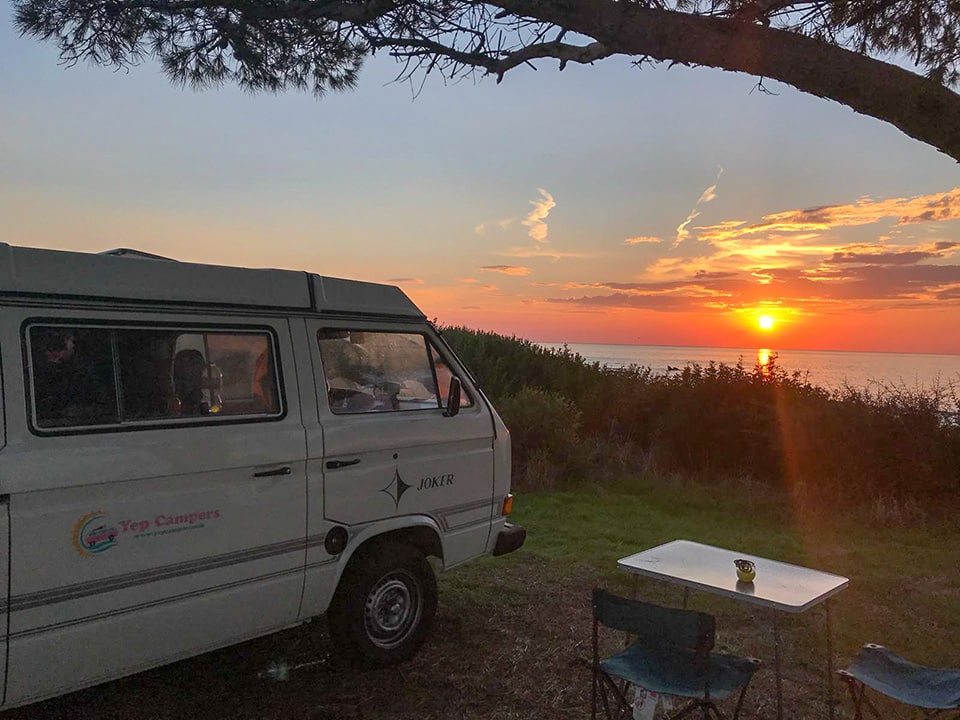 Wild camping in Sardinia | home by the sea