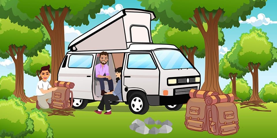 Clevere Camping-Gadgets