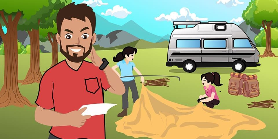 First time camping checklist 2019