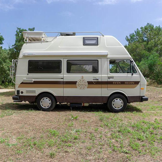 Location Camping car Sardaigne | Westfalia Sven Hedin