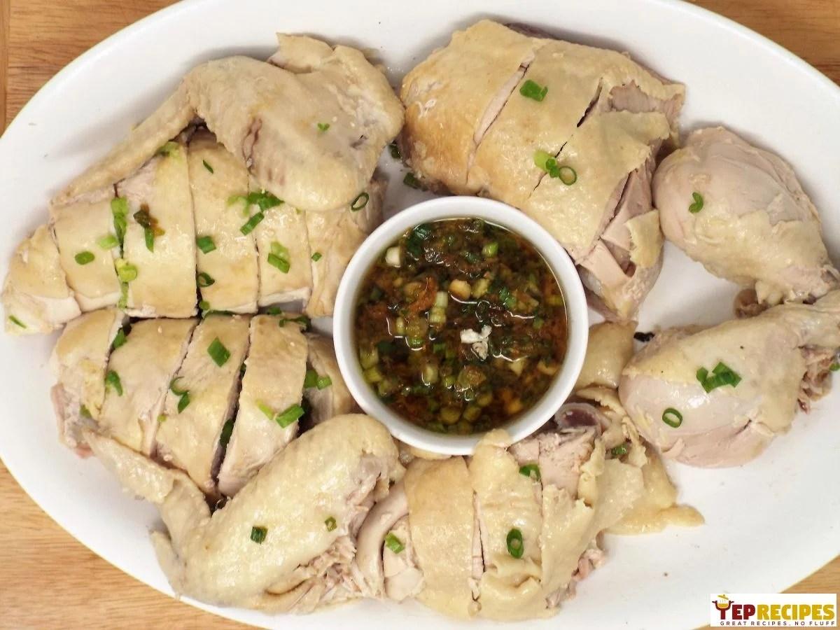 Cantonese White Cut Chicken