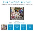 $5 / 5 Albums / 5 Days Digital Sale in the Yep Roc Store
