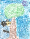 """Enoch calls this """"Black Bee/Yellow Bee""""."""