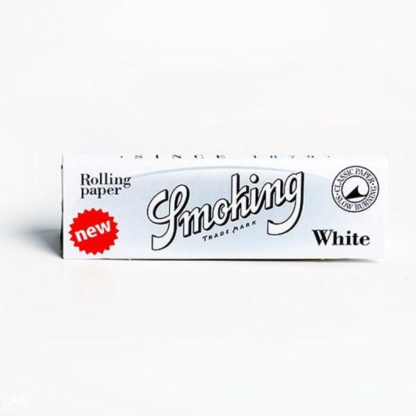 Smoking White Rizla