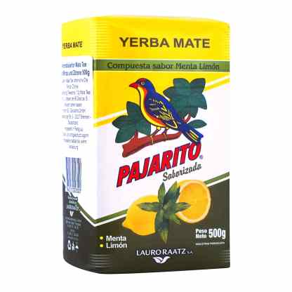 pajarito menta limon