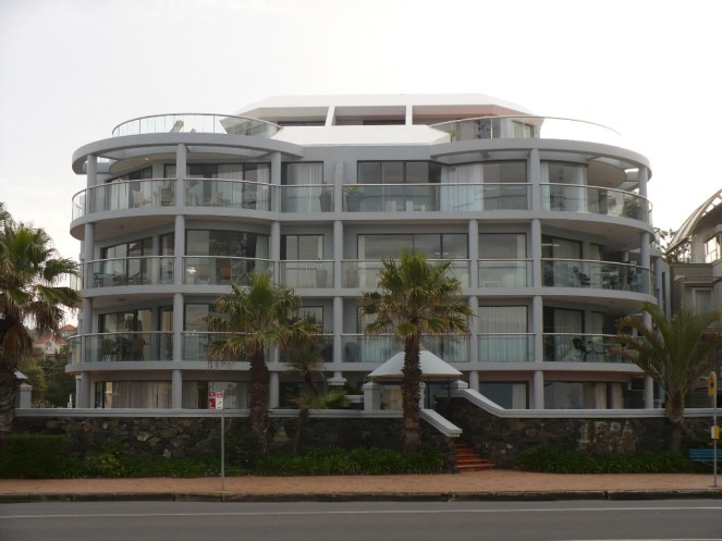 Apartments at Manly beach
