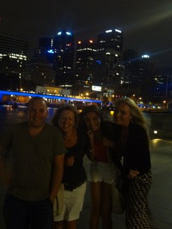 Outside the Crown Casino