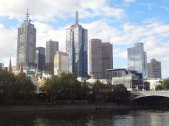Melbourne Skyline from the Southbank