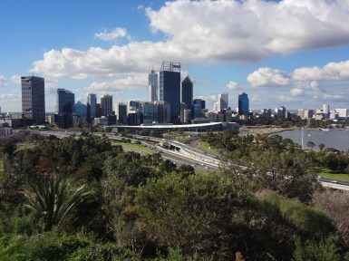 Perth CBD from Kings Park